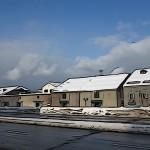 冬の小樽の街をRX100のイラスト調で撮ってみました