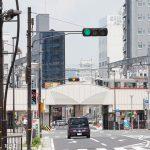 姫路城と電車